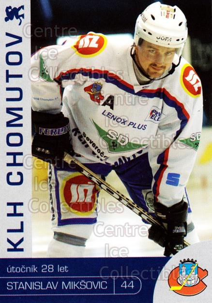 2003-04 Czech KLH Chomutov Team Issue #18 Stanislav Miksovic<br/>1 In Stock - $3.00 each - <a href=https://centericecollectibles.foxycart.com/cart?name=2003-04%20Czech%20KLH%20Chomutov%20Team%20Issue%20%2318%20Stanislav%20Mikso...&quantity_max=1&price=$3.00&code=610820 class=foxycart> Buy it now! </a>