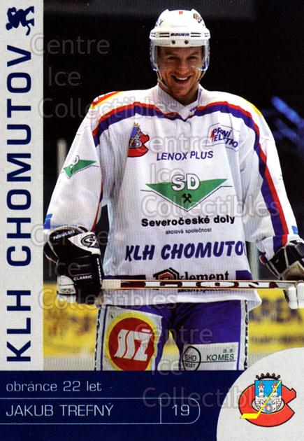 2003-04 Czech KLH Chomutov Team Issue #31 Jakub Trefny<br/>1 In Stock - $3.00 each - <a href=https://centericecollectibles.foxycart.com/cart?name=2003-04%20Czech%20KLH%20Chomutov%20Team%20Issue%20%2331%20Jakub%20Trefny...&quantity_max=1&price=$3.00&code=610833 class=foxycart> Buy it now! </a>