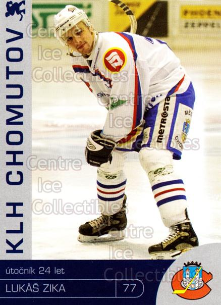 2003-04 Czech KLH Chomutov Team Issue #33 Lukas Zika<br/>1 In Stock - $3.00 each - <a href=https://centericecollectibles.foxycart.com/cart?name=2003-04%20Czech%20KLH%20Chomutov%20Team%20Issue%20%2333%20Lukas%20Zika...&quantity_max=1&price=$3.00&code=610835 class=foxycart> Buy it now! </a>