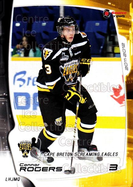 2011-12 Cape Breton Screaming Eagles #3 Connor Rogers<br/>1 In Stock - $3.00 each - <a href=https://centericecollectibles.foxycart.com/cart?name=2011-12%20Cape%20Breton%20Screaming%20Eagles%20%233%20Connor%20Rogers...&price=$3.00&code=610855 class=foxycart> Buy it now! </a>