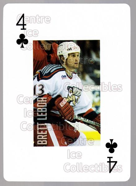 2011-12 Grand Rapids Griffins Playing Card #4 Brett Lebda<br/>1 In Stock - $3.00 each - <a href=https://centericecollectibles.foxycart.com/cart?name=2011-12%20Grand%20Rapids%20Griffins%20Playing%20Card%20%234%20Brett%20Lebda...&quantity_max=1&price=$3.00&code=610907 class=foxycart> Buy it now! </a>