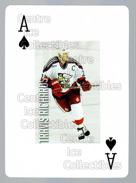 2011-12 Grand Rapids Griffins Playing Card #40 Travis Richards<br/>1 In Stock - $3.00 each - <a href=https://centericecollectibles.foxycart.com/cart?name=2011-12%20Grand%20Rapids%20Griffins%20Playing%20Card%20%2340%20Travis%20Richards...&price=$3.00&code=610943 class=foxycart> Buy it now! </a>