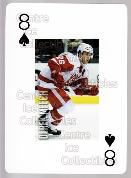 2011-12 Grand Rapids Griffins Playing Card #47 Derek Meech<br/>1 In Stock - $3.00 each - <a href=https://centericecollectibles.foxycart.com/cart?name=2011-12%20Grand%20Rapids%20Griffins%20Playing%20Card%20%2347%20Derek%20Meech...&price=$3.00&code=610950 class=foxycart> Buy it now! </a>