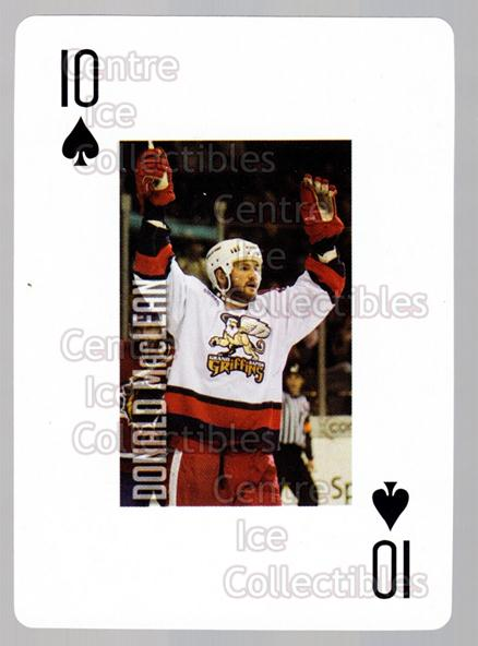 2011-12 Grand Rapids Griffins Playing Card #49 Donald MacLean<br/>1 In Stock - $3.00 each - <a href=https://centericecollectibles.foxycart.com/cart?name=2011-12%20Grand%20Rapids%20Griffins%20Playing%20Card%20%2349%20Donald%20MacLean...&price=$3.00&code=610952 class=foxycart> Buy it now! </a>