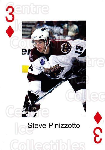 2009-10 Hershey Bears Playing Card #3 Steve Pinizzotto<br/>1 In Stock - $3.00 each - <a href=https://centericecollectibles.foxycart.com/cart?name=2009-10%20Hershey%20Bears%20Playing%20Card%20%233%20Steve%20Pinizzott...&quantity_max=1&price=$3.00&code=610960 class=foxycart> Buy it now! </a>