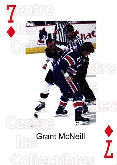 2009-10 Hershey Bears Playing Card #7 Grant McNeill<br/>1 In Stock - $3.00 each - <a href=https://centericecollectibles.foxycart.com/cart?name=2009-10%20Hershey%20Bears%20Playing%20Card%20%237%20Grant%20McNeill...&quantity_max=1&price=$3.00&code=610964 class=foxycart> Buy it now! </a>
