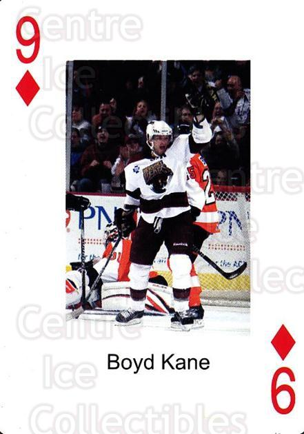 2009-10 Hershey Bears Playing Card #9 Boyd Kane<br/>2 In Stock - $3.00 each - <a href=https://centericecollectibles.foxycart.com/cart?name=2009-10%20Hershey%20Bears%20Playing%20Card%20%239%20Boyd%20Kane...&quantity_max=2&price=$3.00&code=610966 class=foxycart> Buy it now! </a>