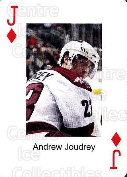2009-10 Hershey Bears Playing Card #11 Andrew Joudrey<br/>1 In Stock - $3.00 each - <a href=https://centericecollectibles.foxycart.com/cart?name=2009-10%20Hershey%20Bears%20Playing%20Card%20%2311%20Andrew%20Joudrey...&quantity_max=1&price=$3.00&code=610968 class=foxycart> Buy it now! </a>
