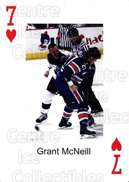 2009-10 Hershey Bears Playing Card #20 Grant McNeill<br/>1 In Stock - $3.00 each - <a href=https://centericecollectibles.foxycart.com/cart?name=2009-10%20Hershey%20Bears%20Playing%20Card%20%2320%20Grant%20McNeill...&quantity_max=1&price=$3.00&code=610977 class=foxycart> Buy it now! </a>