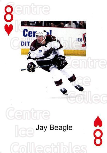 2009-10 Hershey Bears Playing Card #21 Jay Beagle<br/>2 In Stock - $3.00 each - <a href=https://centericecollectibles.foxycart.com/cart?name=2009-10%20Hershey%20Bears%20Playing%20Card%20%2321%20Jay%20Beagle...&quantity_max=2&price=$3.00&code=610978 class=foxycart> Buy it now! </a>
