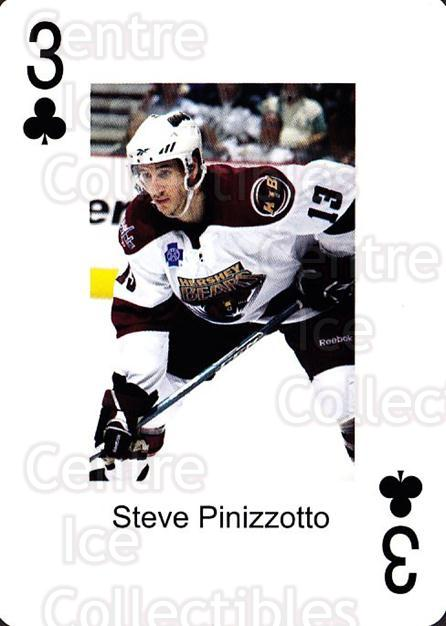 2009-10 Hershey Bears Playing Card #29 Steve Pinizzotto<br/>1 In Stock - $3.00 each - <a href=https://centericecollectibles.foxycart.com/cart?name=2009-10%20Hershey%20Bears%20Playing%20Card%20%2329%20Steve%20Pinizzott...&quantity_max=1&price=$3.00&code=610986 class=foxycart> Buy it now! </a>