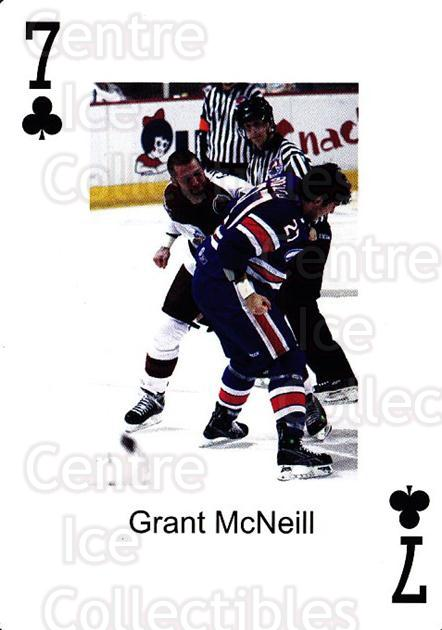2009-10 Hershey Bears Playing Card #33 Grant McNeill<br/>1 In Stock - $3.00 each - <a href=https://centericecollectibles.foxycart.com/cart?name=2009-10%20Hershey%20Bears%20Playing%20Card%20%2333%20Grant%20McNeill...&quantity_max=1&price=$3.00&code=610990 class=foxycart> Buy it now! </a>