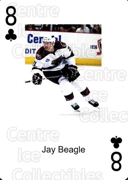 2009-10 Hershey Bears Playing Card #34 Jay Beagle<br/>2 In Stock - $3.00 each - <a href=https://centericecollectibles.foxycart.com/cart?name=2009-10%20Hershey%20Bears%20Playing%20Card%20%2334%20Jay%20Beagle...&quantity_max=2&price=$3.00&code=610991 class=foxycart> Buy it now! </a>
