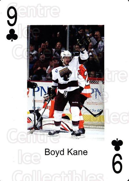2009-10 Hershey Bears Playing Card #35 Boyd Kane<br/>2 In Stock - $3.00 each - <a href=https://centericecollectibles.foxycart.com/cart?name=2009-10%20Hershey%20Bears%20Playing%20Card%20%2335%20Boyd%20Kane...&quantity_max=2&price=$3.00&code=610992 class=foxycart> Buy it now! </a>