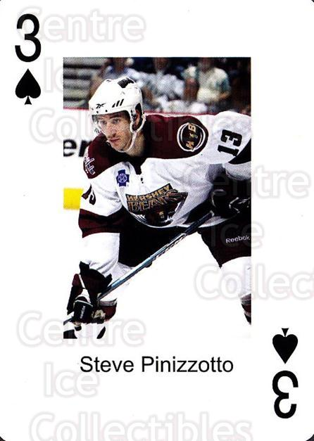 2009-10 Hershey Bears Playing Card #42 Steve Pinizzotto<br/>1 In Stock - $3.00 each - <a href=https://centericecollectibles.foxycart.com/cart?name=2009-10%20Hershey%20Bears%20Playing%20Card%20%2342%20Steve%20Pinizzott...&quantity_max=1&price=$3.00&code=610999 class=foxycart> Buy it now! </a>