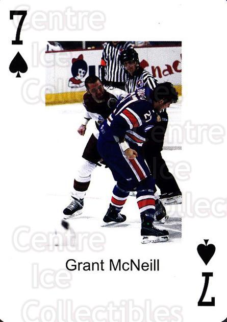 2009-10 Hershey Bears Playing Card #46 Grant McNeill<br/>1 In Stock - $3.00 each - <a href=https://centericecollectibles.foxycart.com/cart?name=2009-10%20Hershey%20Bears%20Playing%20Card%20%2346%20Grant%20McNeill...&quantity_max=1&price=$3.00&code=611003 class=foxycart> Buy it now! </a>