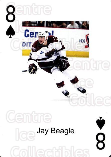 2009-10 Hershey Bears Playing Card #47 Jay Beagle<br/>2 In Stock - $3.00 each - <a href=https://centericecollectibles.foxycart.com/cart?name=2009-10%20Hershey%20Bears%20Playing%20Card%20%2347%20Jay%20Beagle...&quantity_max=2&price=$3.00&code=611004 class=foxycart> Buy it now! </a>