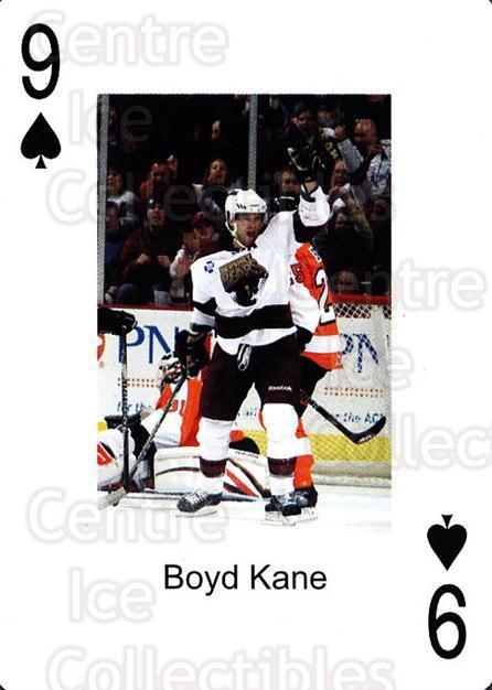 2009-10 Hershey Bears Playing Card #48 Boyd Kane<br/>2 In Stock - $3.00 each - <a href=https://centericecollectibles.foxycart.com/cart?name=2009-10%20Hershey%20Bears%20Playing%20Card%20%2348%20Boyd%20Kane...&quantity_max=2&price=$3.00&code=611005 class=foxycart> Buy it now! </a>
