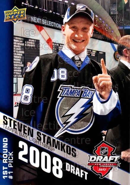 2013 Upper Deck Draft Redemption #5 Steven Stamkos<br/>1 In Stock - $3.00 each - <a href=https://centericecollectibles.foxycart.com/cart?name=2013%20Upper%20Deck%20Draft%20Redemption%20%235%20Steven%20Stamkos...&price=$3.00&code=611024 class=foxycart> Buy it now! </a>
