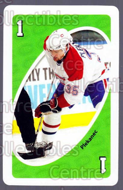 2007-08 Montreal Canadiens UNO #2 Tomas Plekanec<br/>5 In Stock - $3.00 each - <a href=https://centericecollectibles.foxycart.com/cart?name=2007-08%20Montreal%20Canadiens%20UNO%20%232%20Tomas%20Plekanec...&quantity_max=5&price=$3.00&code=611101 class=foxycart> Buy it now! </a>
