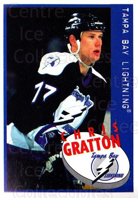 1997-98 Panini Stickers #103 Chris Gratton<br/>5 In Stock - $1.00 each - <a href=https://centericecollectibles.foxycart.com/cart?name=1997-98%20Panini%20Stickers%20%23103%20Chris%20Gratton...&quantity_max=5&price=$1.00&code=61113 class=foxycart> Buy it now! </a>