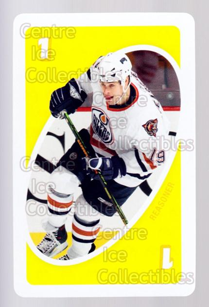 2007-08 Edmonton Oilers Mattel UNO #28 Marty Reasoner<br/>4 In Stock - $3.00 each - <a href=https://centericecollectibles.foxycart.com/cart?name=2007-08%20Edmonton%20Oilers%20Mattel%20UNO%20%2328%20Marty%20Reasoner...&quantity_max=4&price=$3.00&code=611182 class=foxycart> Buy it now! </a>