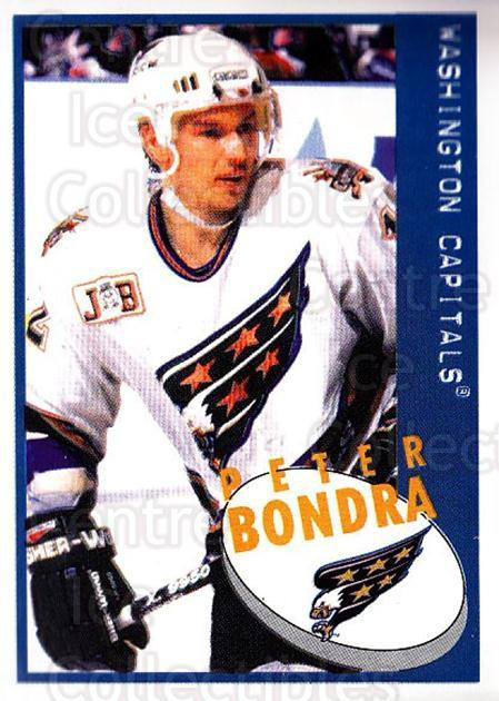 1997-98 Panini Stickers #109 Peter Bondra<br/>3 In Stock - $1.00 each - <a href=https://centericecollectibles.foxycart.com/cart?name=1997-98%20Panini%20Stickers%20%23109%20Peter%20Bondra...&quantity_max=3&price=$1.00&code=61119 class=foxycart> Buy it now! </a>