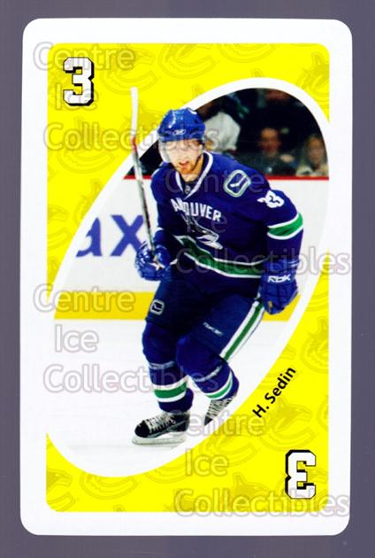 2007-08 Vancouver Canucks Mattel UNO #30 Henrik Sedin<br/>4 In Stock - $3.00 each - <a href=https://centericecollectibles.foxycart.com/cart?name=2007-08%20Vancouver%20Canucks%20Mattel%20UNO%20%2330%20Henrik%20Sedin...&quantity_max=4&price=$3.00&code=611239 class=foxycart> Buy it now! </a>