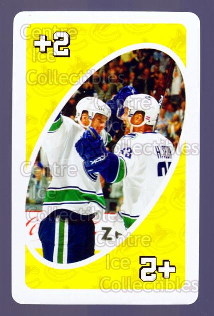 2007-08 Vancouver Canucks Mattel UNO #39 Henrik Sedin<br/>4 In Stock - $3.00 each - <a href=https://centericecollectibles.foxycart.com/cart?name=2007-08%20Vancouver%20Canucks%20Mattel%20UNO%20%2339%20Henrik%20Sedin...&quantity_max=4&price=$3.00&code=611248 class=foxycart> Buy it now! </a>