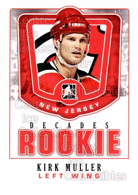 2010-11 ITG Decades 1980s Rookies #24 Kirk Muller<br/>6 In Stock - $3.00 each - <a href=https://centericecollectibles.foxycart.com/cart?name=2010-11%20ITG%20Decades%201980s%20Rookies%20%2324%20Kirk%20Muller...&quantity_max=6&price=$3.00&code=611288 class=foxycart> Buy it now! </a>