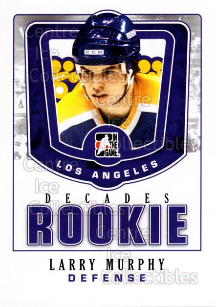 2010-11 ITG Decades 1980s Rookies #25 Larry Murphy<br/>6 In Stock - $3.00 each - <a href=https://centericecollectibles.foxycart.com/cart?name=2010-11%20ITG%20Decades%201980s%20Rookies%20%2325%20Larry%20Murphy...&quantity_max=6&price=$3.00&code=611289 class=foxycart> Buy it now! </a>