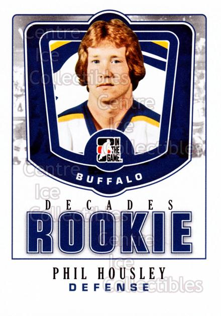 2010-11 ITG Decades 1980s Rookies #37 Phil Housley<br/>2 In Stock - $3.00 each - <a href=https://centericecollectibles.foxycart.com/cart?name=2010-11%20ITG%20Decades%201980s%20Rookies%20%2337%20Phil%20Housley...&quantity_max=2&price=$3.00&code=611301 class=foxycart> Buy it now! </a>