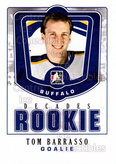 2010-11 ITG Decades 1980s Rookies #44 Tom Barrasso<br/>3 In Stock - $3.00 each - <a href=https://centericecollectibles.foxycart.com/cart?name=2010-11%20ITG%20Decades%201980s%20Rookies%20%2344%20Tom%20Barrasso...&price=$3.00&code=611308 class=foxycart> Buy it now! </a>