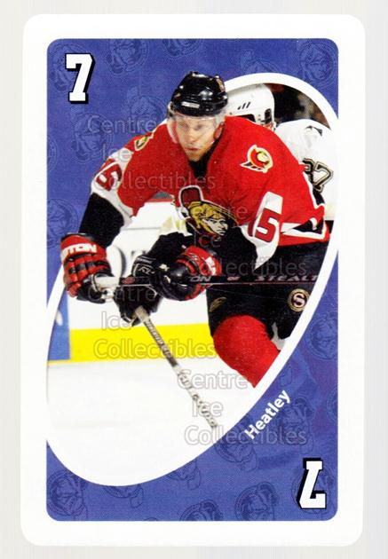2007-08 Ottawa Senators Mattel UNO #21 Dany Heatley<br/>2 In Stock - $3.00 each - <a href=https://centericecollectibles.foxycart.com/cart?name=2007-08%20Ottawa%20Senators%20Mattel%20UNO%20%2321%20Dany%20Heatley...&quantity_max=2&price=$3.00&code=611330 class=foxycart> Buy it now! </a>
