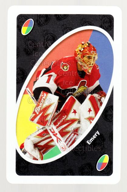 2007-08 Ottawa Senators Mattel UNO #53 Ray Emery<br/>3 In Stock - $3.00 each - <a href=https://centericecollectibles.foxycart.com/cart?name=2007-08%20Ottawa%20Senators%20Mattel%20UNO%20%2353%20Ray%20Emery...&quantity_max=3&price=$3.00&code=611362 class=foxycart> Buy it now! </a>
