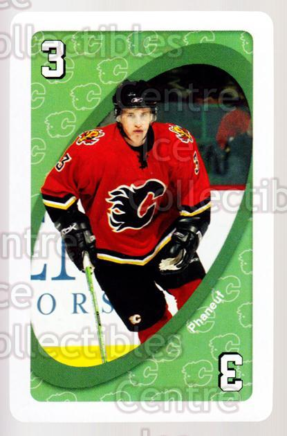 2007-08 Calgary Flames Mattel UNO #4 Dion Phaneuf<br/>2 In Stock - $2.00 each - <a href=https://centericecollectibles.foxycart.com/cart?name=2007-08%20Calgary%20Flames%20Mattel%20UNO%20%234%20Dion%20Phaneuf...&price=$2.00&code=611368 class=foxycart> Buy it now! </a>