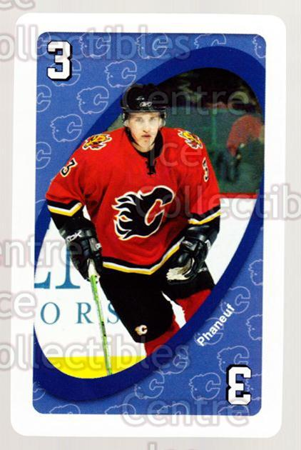 2007-08 Calgary Flames Mattel UNO #17 Dion Phaneuf<br/>2 In Stock - $2.00 each - <a href=https://centericecollectibles.foxycart.com/cart?name=2007-08%20Calgary%20Flames%20Mattel%20UNO%20%2317%20Dion%20Phaneuf...&price=$2.00&code=611381 class=foxycart> Buy it now! </a>