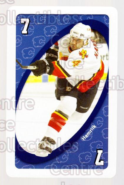 2007-08 Calgary Flames Mattel UNO #21 Roman Hamrlik<br/>1 In Stock - $3.00 each - <a href=https://centericecollectibles.foxycart.com/cart?name=2007-08%20Calgary%20Flames%20Mattel%20UNO%20%2321%20Roman%20Hamrlik...&quantity_max=1&price=$3.00&code=611385 class=foxycart> Buy it now! </a>