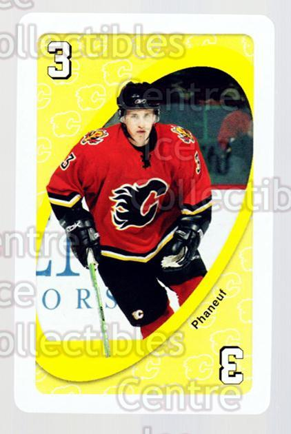 2007-08 Calgary Flames Mattel UNO #30 Dion Phaneuf<br/>2 In Stock - $2.00 each - <a href=https://centericecollectibles.foxycart.com/cart?name=2007-08%20Calgary%20Flames%20Mattel%20UNO%20%2330%20Dion%20Phaneuf...&price=$2.00&code=611394 class=foxycart> Buy it now! </a>