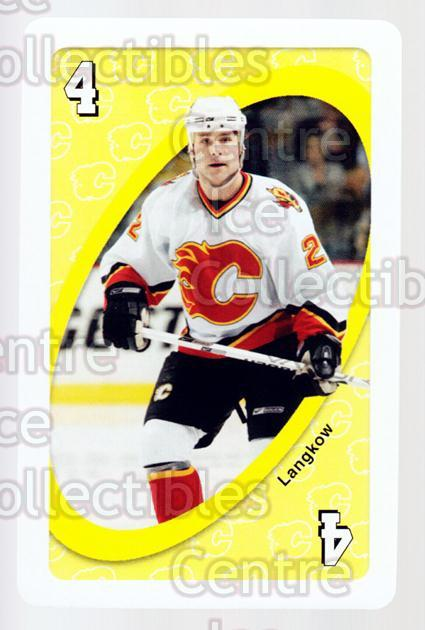 2007-08 Calgary Flames Mattel UNO #31 Daymond Langkow<br/>2 In Stock - $3.00 each - <a href=https://centericecollectibles.foxycart.com/cart?name=2007-08%20Calgary%20Flames%20Mattel%20UNO%20%2331%20Daymond%20Langkow...&quantity_max=2&price=$3.00&code=611395 class=foxycart> Buy it now! </a>