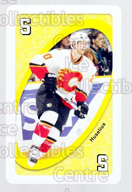 2007-08 Calgary Flames Mattel UNO #32 Kristian Huselius<br/>2 In Stock - $3.00 each - <a href=https://centericecollectibles.foxycart.com/cart?name=2007-08%20Calgary%20Flames%20Mattel%20UNO%20%2332%20Kristian%20Huseli...&quantity_max=2&price=$3.00&code=611396 class=foxycart> Buy it now! </a>