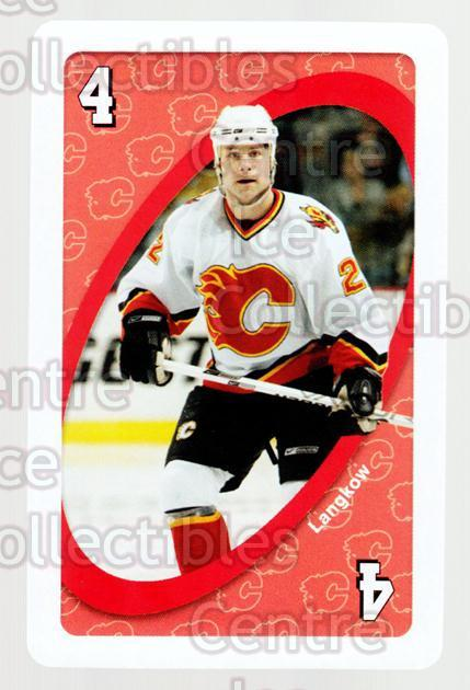 2007-08 Calgary Flames Mattel UNO #44 Daymond Langkow<br/>2 In Stock - $3.00 each - <a href=https://centericecollectibles.foxycart.com/cart?name=2007-08%20Calgary%20Flames%20Mattel%20UNO%20%2344%20Daymond%20Langkow...&quantity_max=2&price=$3.00&code=611408 class=foxycart> Buy it now! </a>