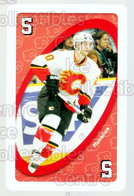 2007-08 Calgary Flames Mattel UNO #45 Kristian Huselius<br/>2 In Stock - $3.00 each - <a href=https://centericecollectibles.foxycart.com/cart?name=2007-08%20Calgary%20Flames%20Mattel%20UNO%20%2345%20Kristian%20Huseli...&quantity_max=2&price=$3.00&code=611409 class=foxycart> Buy it now! </a>