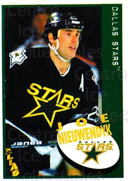 1997-98 Panini Stickers #144 Joe Nieuwendyk<br/>6 In Stock - $1.00 each - <a href=https://centericecollectibles.foxycart.com/cart?name=1997-98%20Panini%20Stickers%20%23144%20Joe%20Nieuwendyk...&quantity_max=6&price=$1.00&code=61156 class=foxycart> Buy it now! </a>