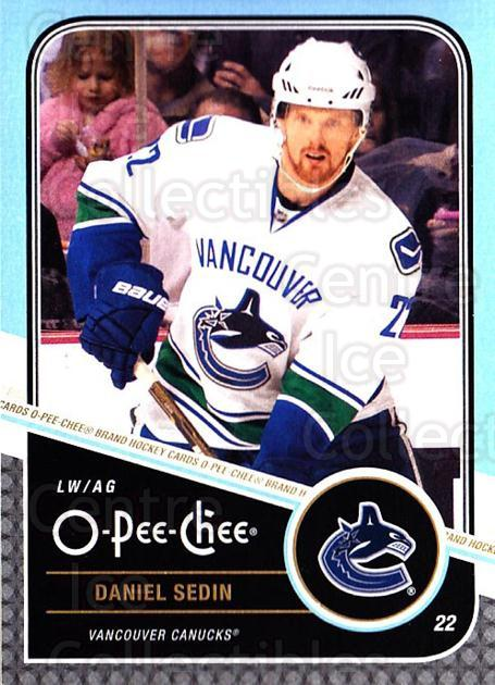 2011-12 O-Pee-Chee #23 Daniel Sedin<br/>1 In Stock - $1.00 each - <a href=https://centericecollectibles.foxycart.com/cart?name=2011-12%20O-Pee-Chee%20%2323%20Daniel%20Sedin...&quantity_max=1&price=$1.00&code=611623 class=foxycart> Buy it now! </a>