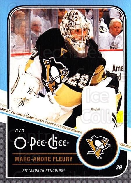 2011-12 O-Pee-Chee #49 Marc-Andre Fleury<br/>1 In Stock - $2.00 each - <a href=https://centericecollectibles.foxycart.com/cart?name=2011-12%20O-Pee-Chee%20%2349%20Marc-Andre%20Fleu...&quantity_max=1&price=$2.00&code=611649 class=foxycart> Buy it now! </a>