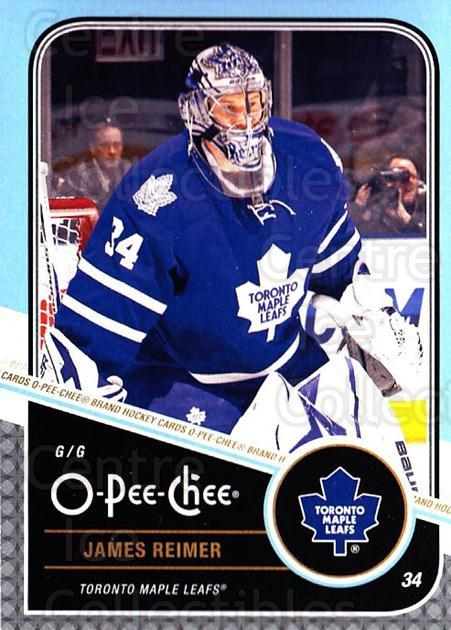 2011-12 O-Pee-Chee #93 James Reimer<br/>1 In Stock - $1.00 each - <a href=https://centericecollectibles.foxycart.com/cart?name=2011-12%20O-Pee-Chee%20%2393%20James%20Reimer...&quantity_max=1&price=$1.00&code=611693 class=foxycart> Buy it now! </a>
