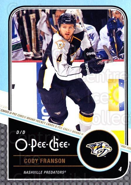 2011-12 O-Pee-Chee #148 Cody Franson<br/>1 In Stock - $1.00 each - <a href=https://centericecollectibles.foxycart.com/cart?name=2011-12%20O-Pee-Chee%20%23148%20Cody%20Franson...&quantity_max=1&price=$1.00&code=611748 class=foxycart> Buy it now! </a>