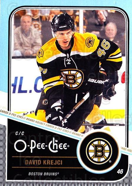 2011-12 O-Pee-Chee #158 David Krejci<br/>1 In Stock - $1.00 each - <a href=https://centericecollectibles.foxycart.com/cart?name=2011-12%20O-Pee-Chee%20%23158%20David%20Krejci...&quantity_max=1&price=$1.00&code=611758 class=foxycart> Buy it now! </a>