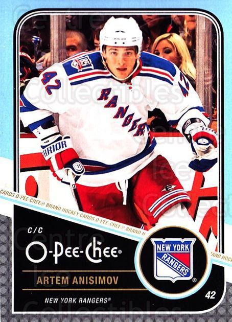 2011-12 O-Pee-Chee #199 Artem Anisimov<br/>1 In Stock - $1.00 each - <a href=https://centericecollectibles.foxycart.com/cart?name=2011-12%20O-Pee-Chee%20%23199%20Artem%20Anisimov...&quantity_max=1&price=$1.00&code=611799 class=foxycart> Buy it now! </a>
